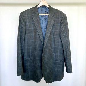 Brooks Brothers x Saxxon 100% wool plaid blazer. 🖤